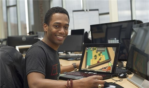 RIT Student Shines at Gaming Conference