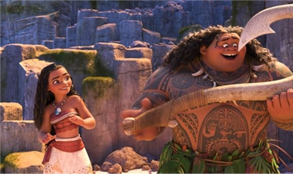 Directing CG for Moana