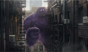 Purple CG Monster Stars in Monster.com Spot