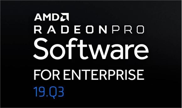AMD Releases Latest Radeon Pro Driver