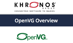 Khronos Releases OpenVG 1.1 Lite Provisional Spec