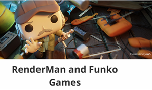 RenderMan and Funko Games: Creating the Funkoverse Jaws Game Box Art