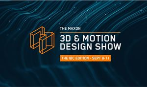 Maxon to Host 3D and Motion Design Show for IBC 2020