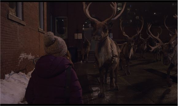 CG Helps Santa's Reindeer Take Flight
