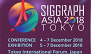 Cutting-Edge 'Crossover' at SIGGRAPH Asia 2018