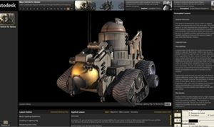 Autodesk Introduces Interactive Curriculum for Game Development