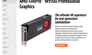 AMD adds to FirePro graphics line-up