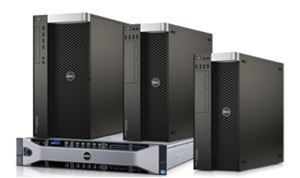 Dell shows new tower & rack workstations