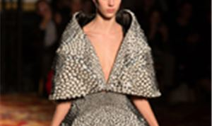 Wearable 3D Printed Pieces Hit Paris Fashion Week