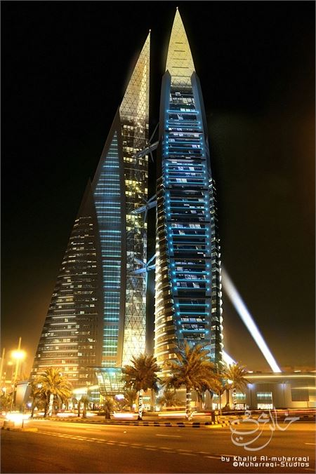 WTC Bahrain- All 2006 image at night