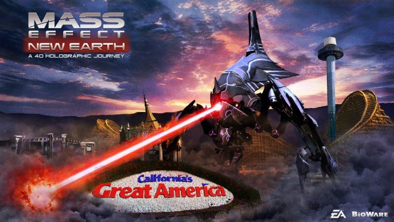 'Mass Effect: New Earth' Opens At Great America Amusement Park